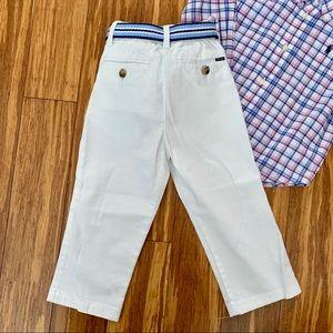 Ralph Lauren Matching Sets - Ralph Lauren Button Down and Pant Set 24months👶🏼